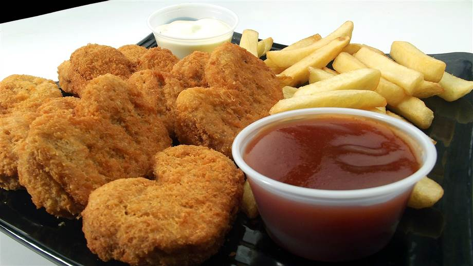 Hühner Nuggets